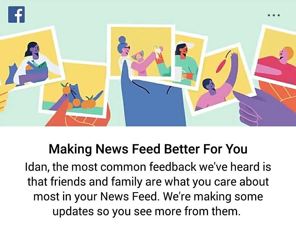 facebook news feed notification