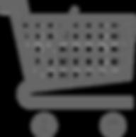 אייקון עגלת קניות בחנות אינטרנטית