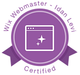 Wix Certified Webmaster Badge
