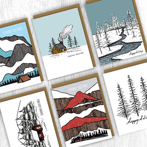 Holiday Card Pack : Landscape