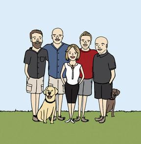 Custom Family Doodle