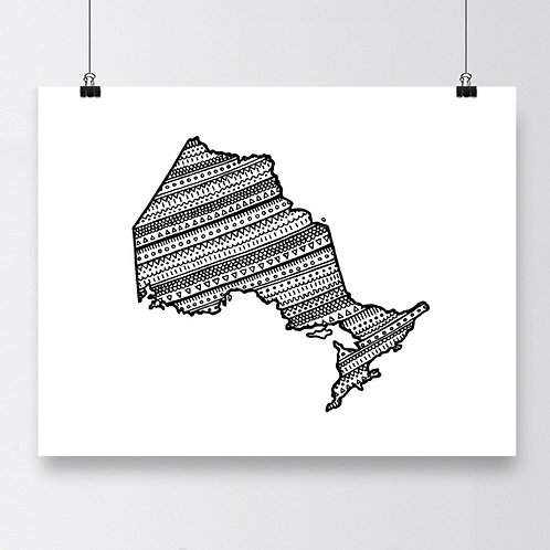 Ontario B&W