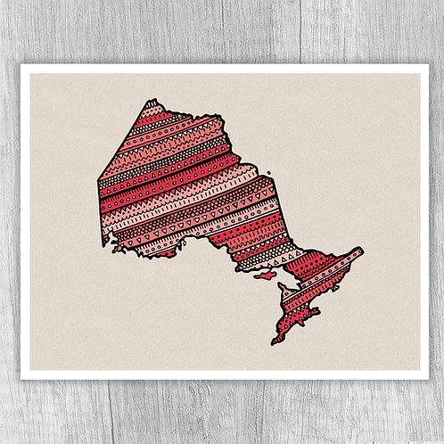 Ontario (coral texture)