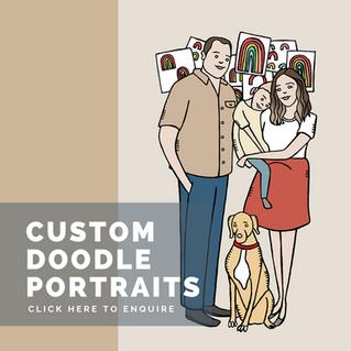 Doodle Portraits