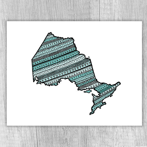 Ontario (turquoise)