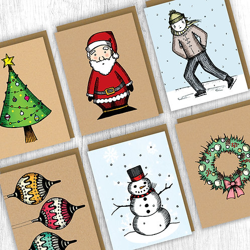 Holiday Card Pack : Classic