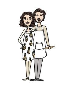 Custom Couple Doodle