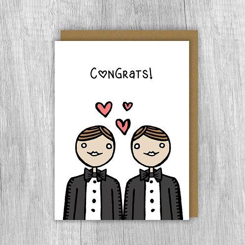 Congrats Groom