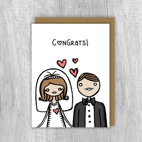 Congrats Bride & Groom