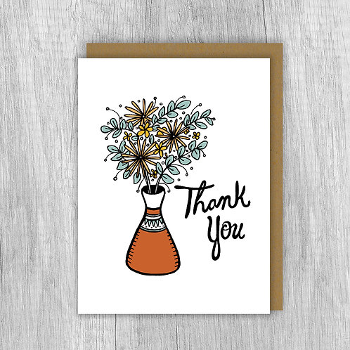 Thank You Vase