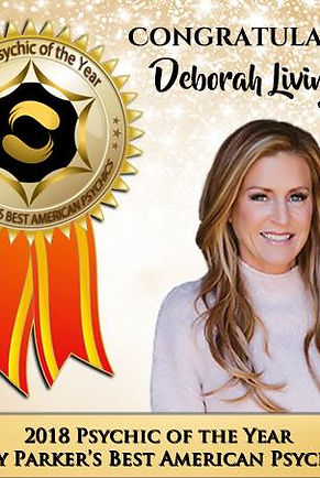 Deborah Livingston - AWARD WINNING INTERNATIONAL PSYCHIC MEDIUM
