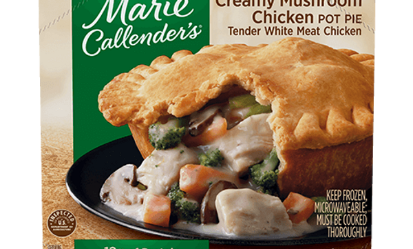 M CALLENDERS CHICKEN POT PIE