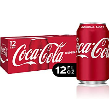 Coke Products - 12-pack cans