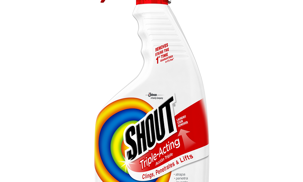 shout laundry stain remover trigger