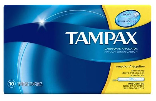 Tampax Regular Absorbancy Tampon