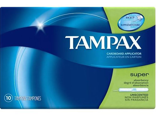 Tampax Super Absorbancy Tampon