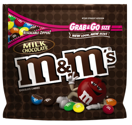 M&M Milk Chocolate King Size