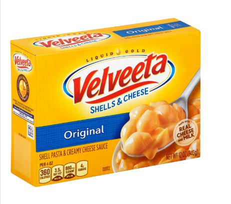Kraft Velveeta & Shells