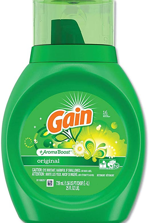 gain detergent liquid 16use