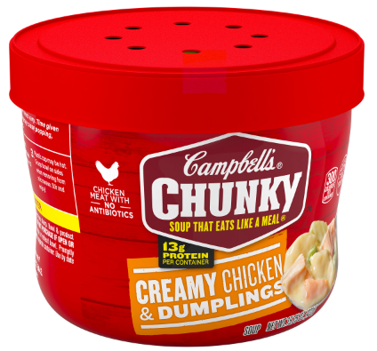 Campbell Microwavable Bowl Chix Dumpling