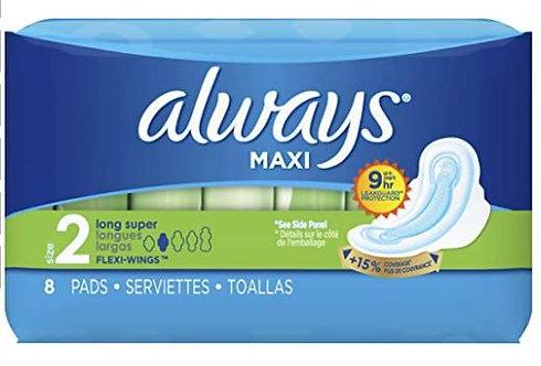 Always Long Pads Max Wings