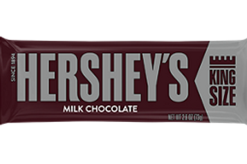 Hershey Bar- Milk -  King Size