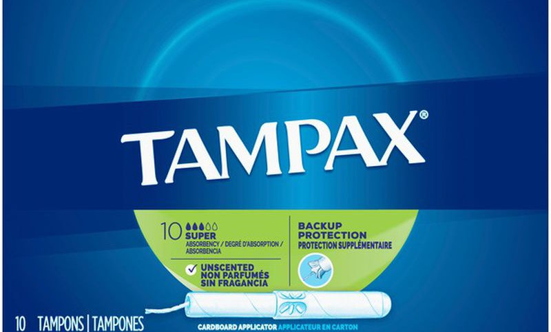 tampax super absorbency tampon