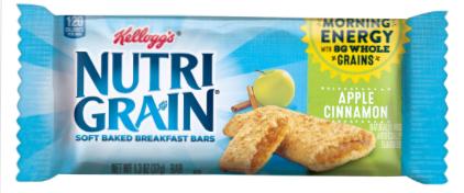 Nutri-Grain Bar Apple Cinnamon