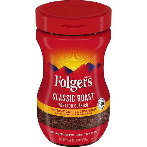 folgers coffee instant plstc