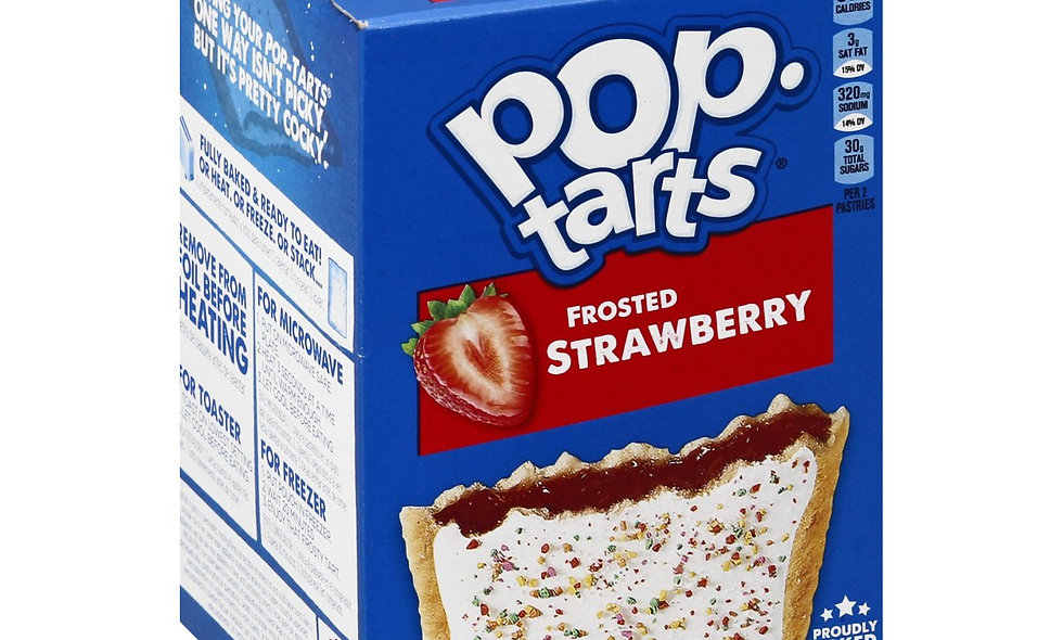 Pop Tarts- Frosted Strawberry