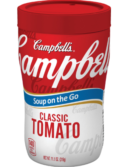 Campbell Soup on the Go Tomato Soup