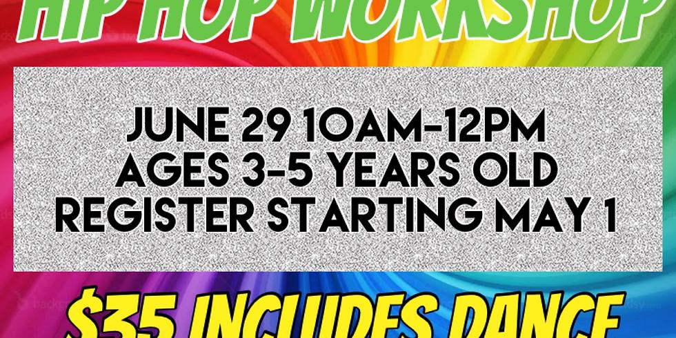 Trolls Toddler Hip Hop Workshop