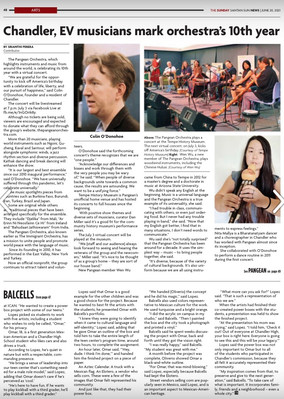 A New Article About The Pangean Orchestra