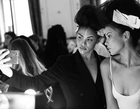 Tags:- INIFD LST INDIA - SS19 - FASHION - CATWALK - FASHION SCOUT - FREEMASON HALL - LONDON FASHION WEEK - MODEL - SPRING SUMMER 2019 - MAKEUP - UNWINDING INDIA - BACK STAGE - CANDID PHOTOGRAPHY - BIG HAIR - BEEHIVE