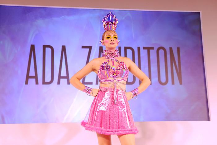 Tags:- ADA ZANDITON - SS19 - FASHION - PRESENTATION - FASHION SCOUT - FREEMASON HALL - LONDON FASHION WEEK - MODEL - SPRING SUMMER 2019 - ADA ZANDITON COUTURE