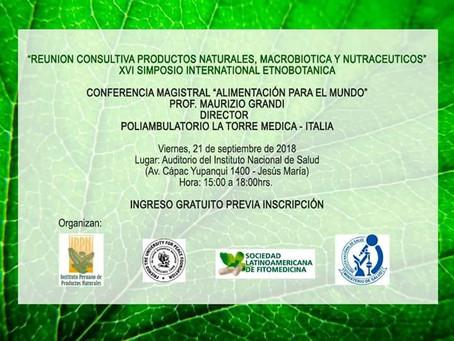 Nel cuore dell'ecosistema:  Etnopharma a Lima