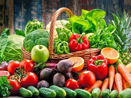 Il colore della pelle è legato a frutta e verdura