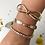 Thumbnail: Bracelete Laço Folheado a Ouro 18K
