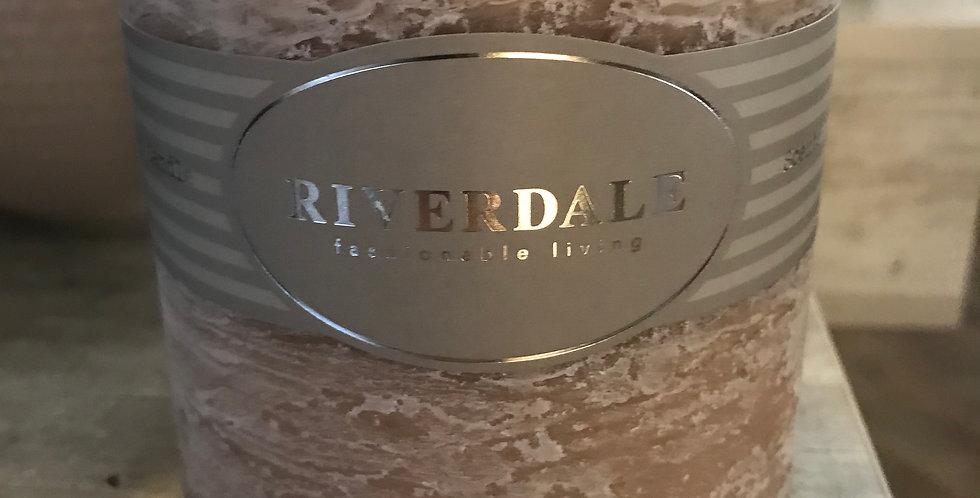 Riverdale Bougie parfumée, jasmine Tea, 10x10cm, Temps du combustionca. 80h