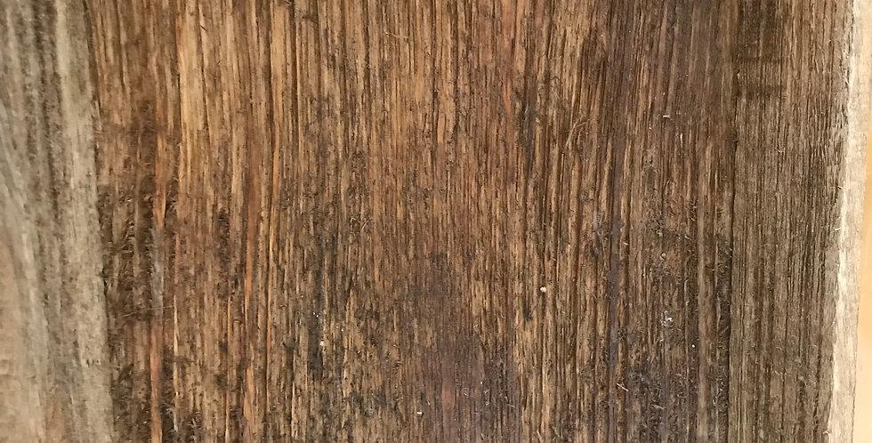 plat bois mangue avec poignées métal 42cm x 22cm