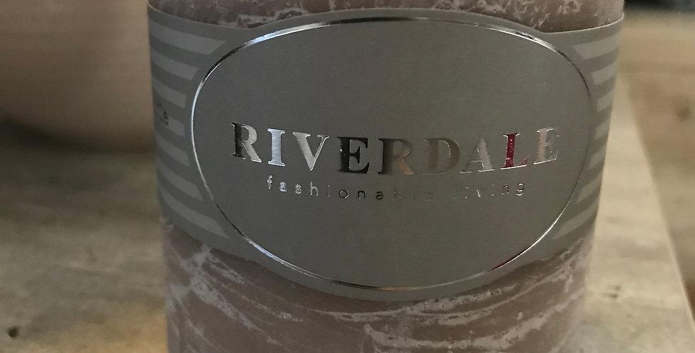 Riverdale Bougie parfumée, jasmine Tea, 7,5x7,5cm, Temps du combustionca.36h