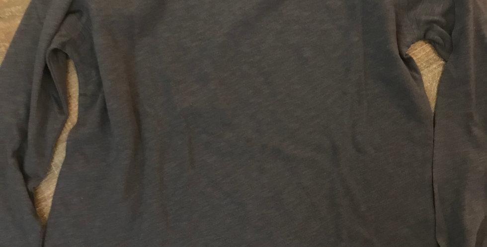 Sweatshirt avec des manches longues, gris, cotton, Taille m
