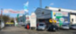 Eingang, Werkstatt, Reparatur, Lackiererei, Karosserie, Unfallschaden, Wartung, Inspektion, Ölwechsel, Reifen, Felgen, Räder