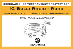 IG Bulli Rhein Ruhr Werkstatt