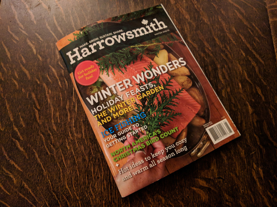 Harrowsmith Podcast Interview with Jane about The Garden