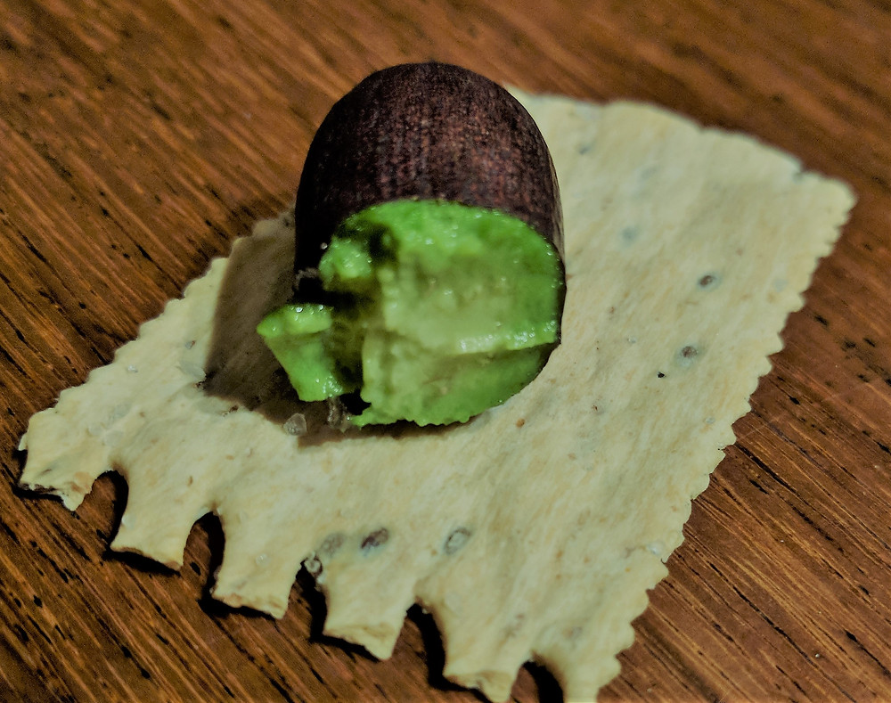 an avocado cuke is an avocado which hasn't developed its seed. It tastes the same, is tiny and ripens a couple of months earlier than the fully developed fruit. I've had both 'cukes' and a fully fertilized fruit on the same tree. The trees are still young so every fruit is cherished!