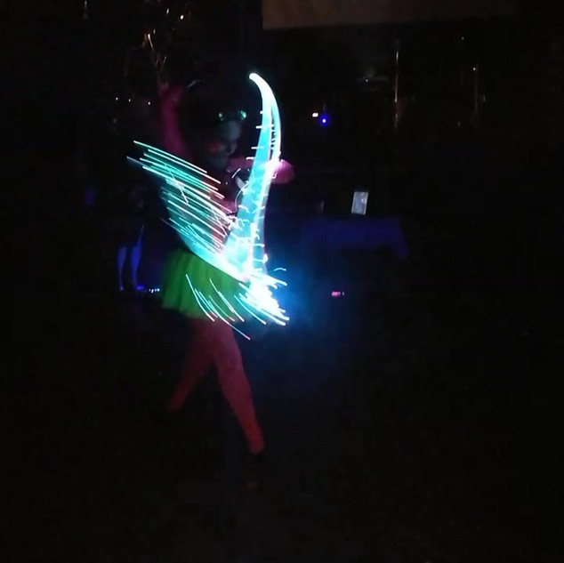 lightshow Bechyně