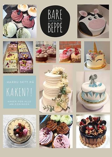 Bestillingskaker, kaker, bakeri, sandefjord, konditori, kaker sandefjord