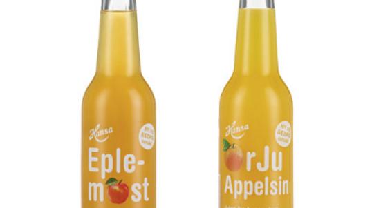 Eplemost & Appelsinjuice