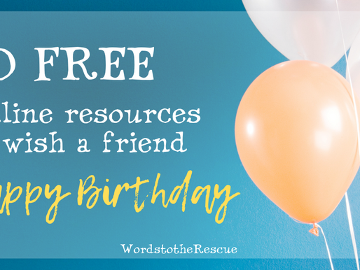 "Wish a friend ""Happy Birthday"" using these ten free online resources."